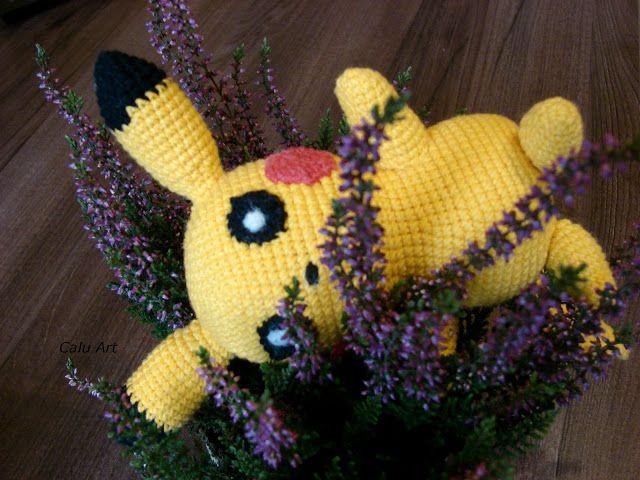 Calu Art: Pikachu......!!!!