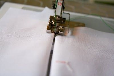 really great tutorial with many uses on bernina foot #10 - edge stitching, pleats & tucks, applique...