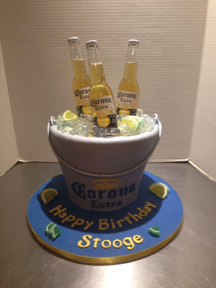 Corona Bucket Cake Cakes Pinterest Cakes Buckets