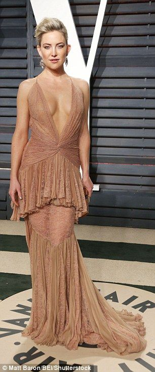 Gorgeous:Whilst she may not have been nominated for an Oscar on the night, the 37-year-ol...