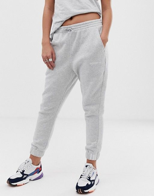6fea8151df2 adidas Originals Coeeze sweat pant in gray heather in 2019 | Outfits ...