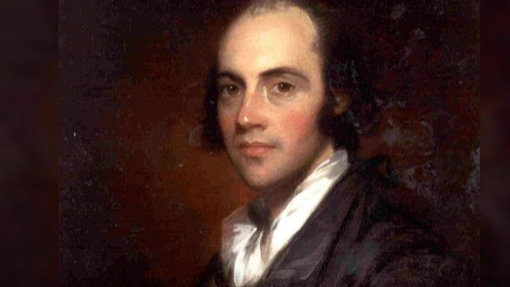 A biography of aaron burr a vice president of the united states