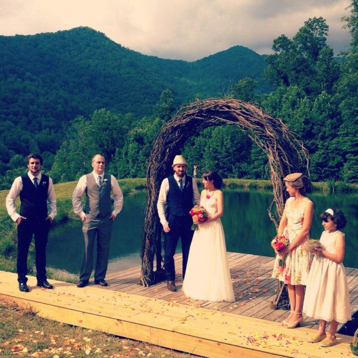 Belle S Cove Beautiful Rustic Venue With Great Prices Near Asheville Nc