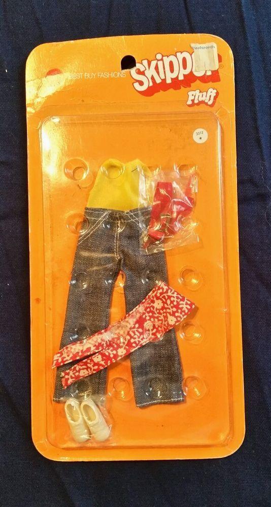 1971 Mattel Barbie - Vintage Skipper Clothes for fluff #3372 - MOC Sealed