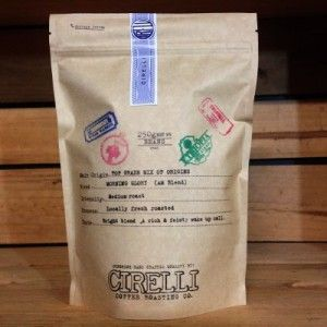 Cirelli Coffee Morning Glory (AM Blend) 250gm - The Gram Store