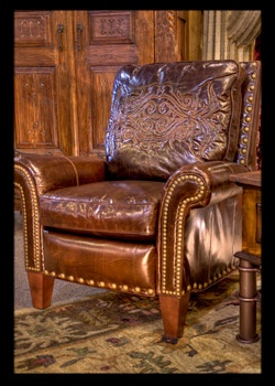 Superior Briarwood Recliner By Brumbaughs Fine Home Furnishings, Ft Worth, TX.