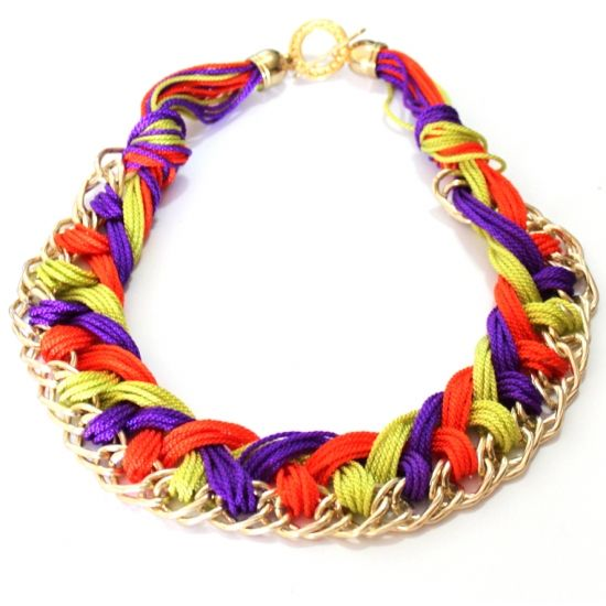 126 best images about diy collares on pinterest trapillo for Disenos de collares