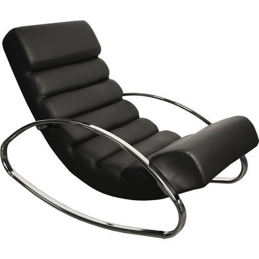 Bekväm liggfåtölj/gungstol i modern stil....