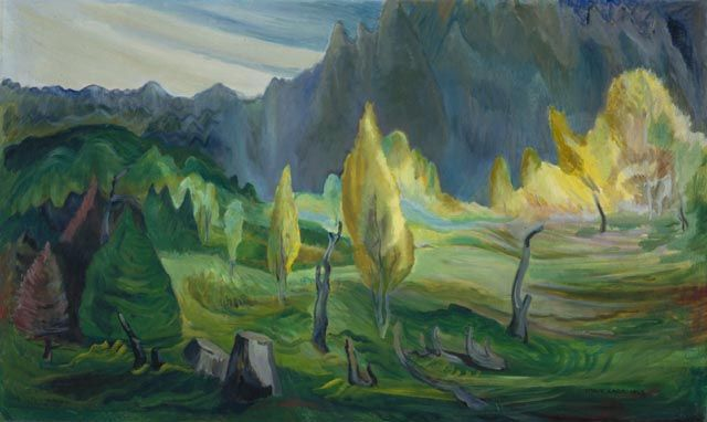 "Emily Carr, ""Clearing"" (1942)"