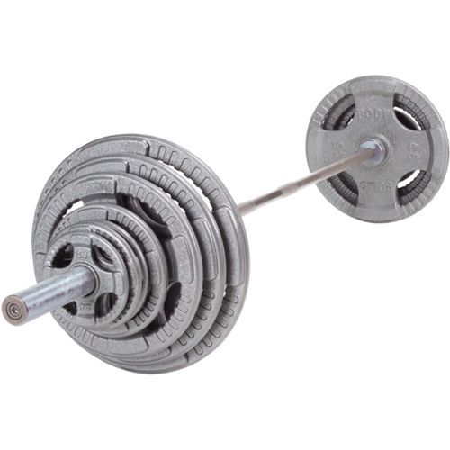 Body-Solid 255 lb. Steel Grip Olympic Weight Set - Fitness Equipment, Free Weights/Bulk at Academy Sports