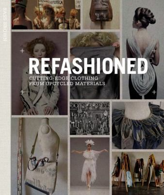 ReFashioned features 46 international designers who work with recycled materials and discarded garments, reinvigorating them with new life and value. The result is beautiful and desirable clothing and accessories that also make an important statement to the fashion world about its wasteful and exploitative practices.