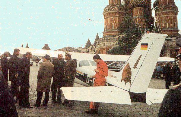 25 años del loco vuelo de Mathias Rust sobre la Unión Soviética