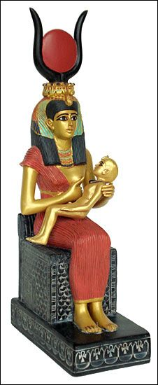 Egyptian Goddess isis had her son Horus on 25 th December. Does this sound and look familiar? The bible says Jesus wasn't born in December so why are many religions celebrating this pagan teaching?! British museum.