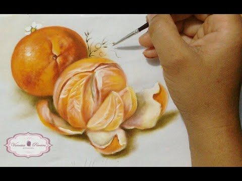 PINTANDO LARANJA / Painting Orange - YouTube