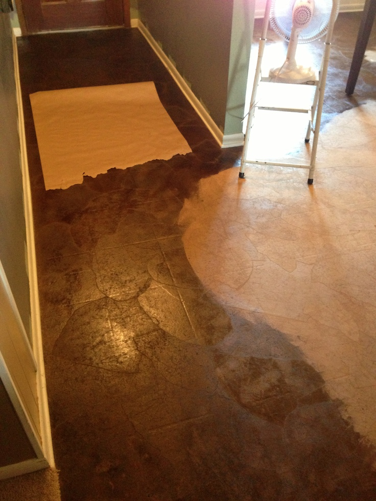 27 best images about brown paper bag flooring walls on pinterest - Brown paper bag walls ...