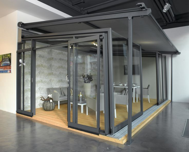 Come to see our showroom of enclosures by Alukov a.s. in Prague