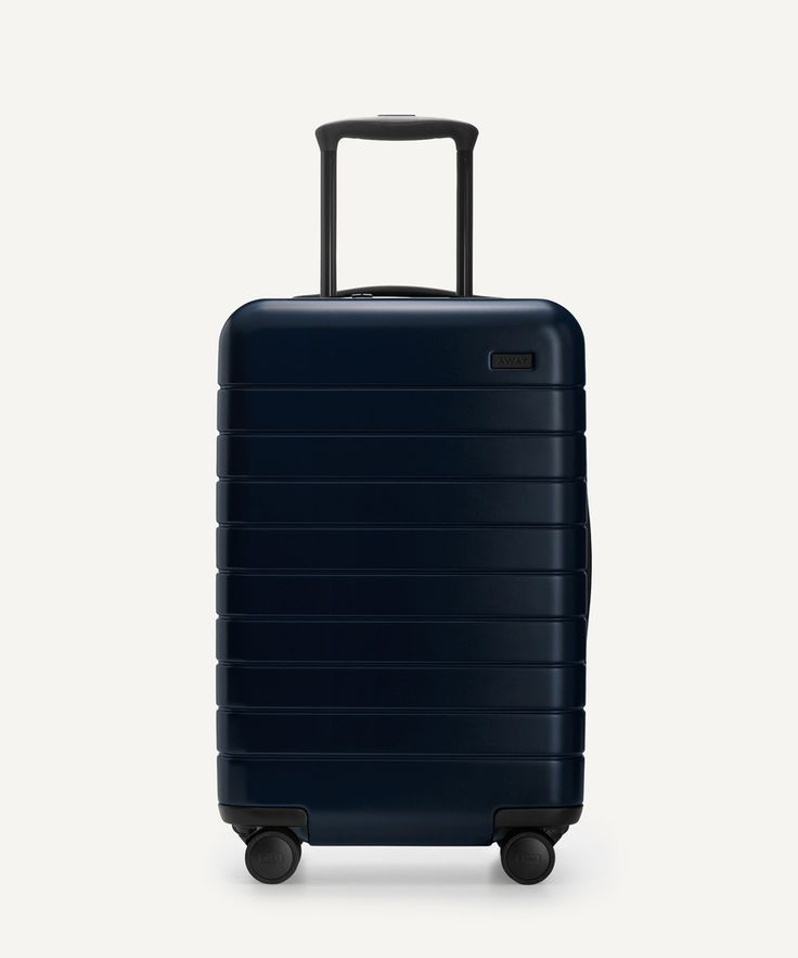 The Away Carry-On // The perfect carry-on, with an unbreakable (and super light) shell, included battery, and four 360° spinner wheels. Sized to fit on all major airlines. @awayluggage