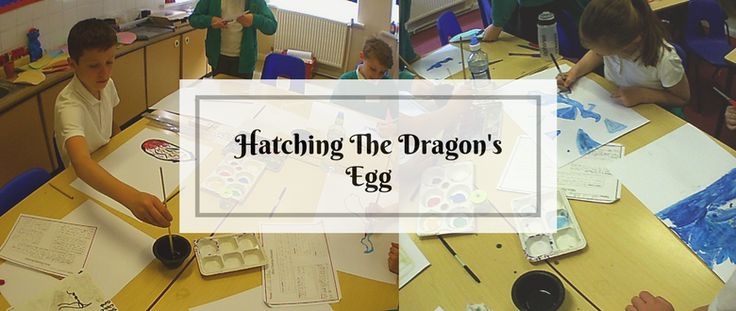 North East Workshops: This week, we headed to north-west Durham to a school in the gorgeous village of Lanchester. Who knew we'd find a dragon's egg there?