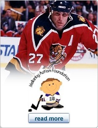 Since his son was diagnosed with autism while with the Florida Panthers, Scott Mellanby has continued to raise money and awareness for autism awareness through the Mellanby Autism Foundation. #NHL #Panthers #Florida #Blues #STL #Thrashers #Atlanta #Habs #Canadiens #Montreal #hockey #charity #autism #sports #rolemodel #Flyers #Philadelphia #Oilers #Edmonton