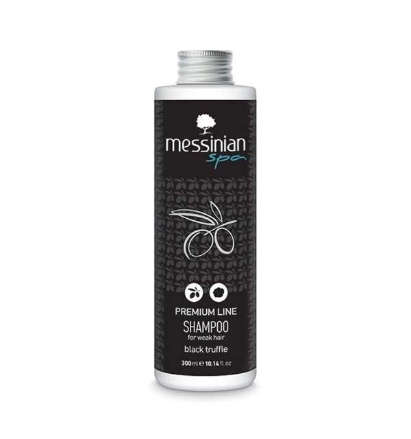 Messinian Spa Premium Line hair shampoo that helps nourish, strengthen, protect and achieve positive influence on the structure of hair, making your hair healthy, strong, silky, moisturized and shiny.