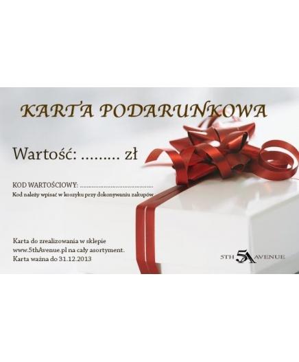 Karta podarunkowa - http://www.5thavenue.pl/meski/karta_podarunkowa/karta_podarunkowa.html