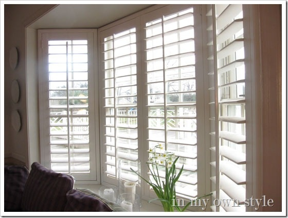 22 best bay window shutters images on pinterest window for 1930s bay window curtains