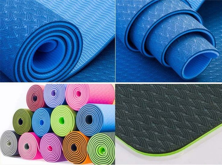 New Arrival TPE Yoga Mats Fitness Eco-friendly Tasteless Anti Slip Thickening Exercise Gym Gymnastics Mats 183*61 With 6 mm – Meditative Life Guide
