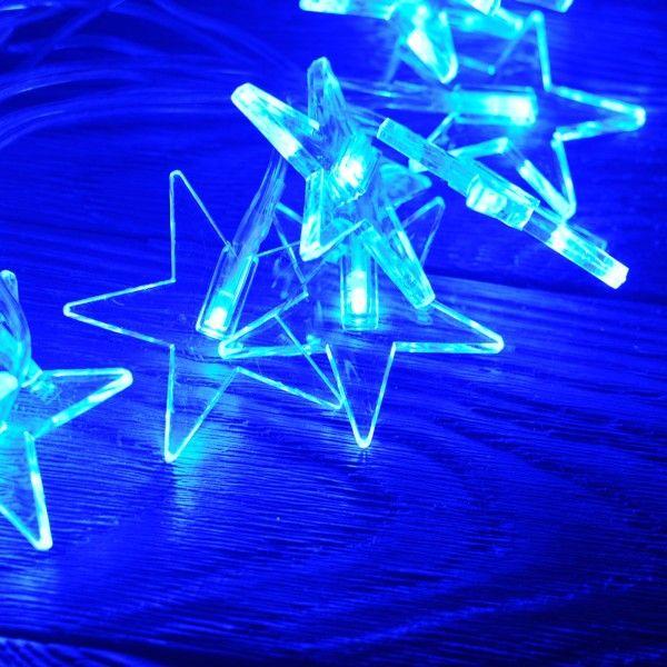 Girlanda świąteczna/choinkowa gwiazdki LED | Sklep | ReBelle