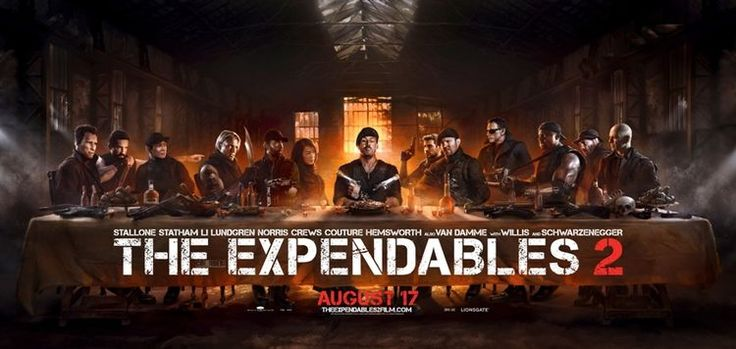 Das letzte Abendmahl: The Expendables 2 - http://www.dravenstales.ch/das-letzte-abendmahl-the-expendables-2/