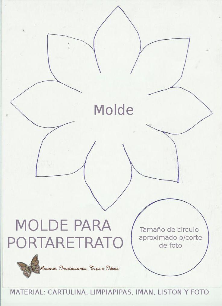 17 beste ideeën over Foami Moldes op Pinterest - Moldes de foami ...