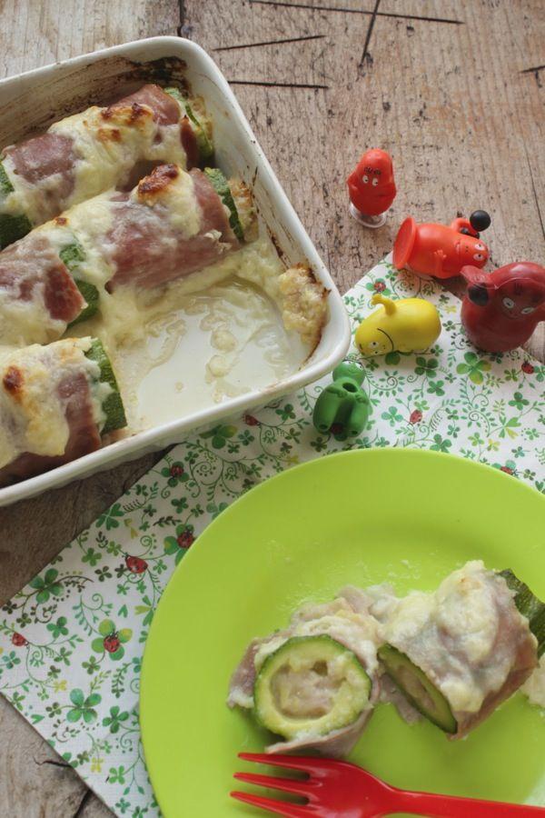 Cannelloni di zucchine : molto , molto buoni!
