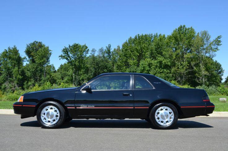 1987 Ford Thunderbird Turbo Coupe 80s Classics