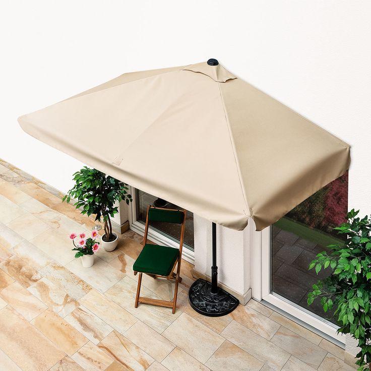 Innovativ The 25+ best Sonnenschirm für balkon ideas on Pinterest  VF29