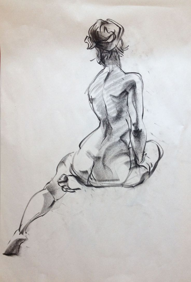 Holly crap this figure drawing is beautiful.