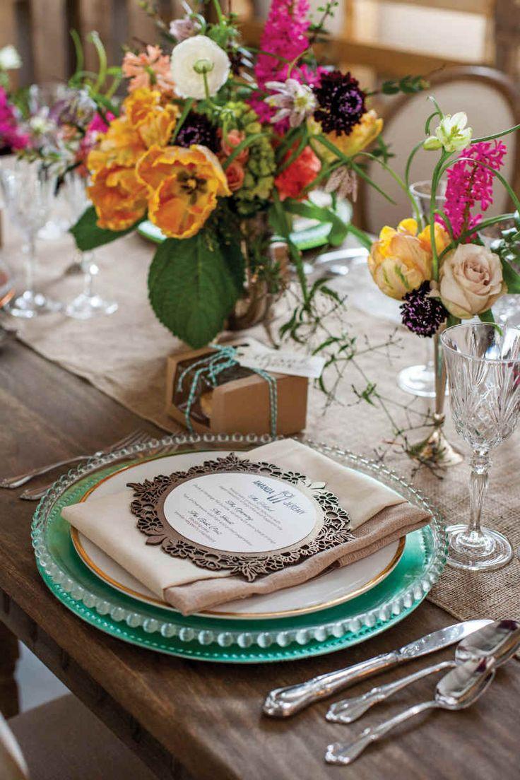 Best Wedding Table Settings Images On Pinterest Wedding