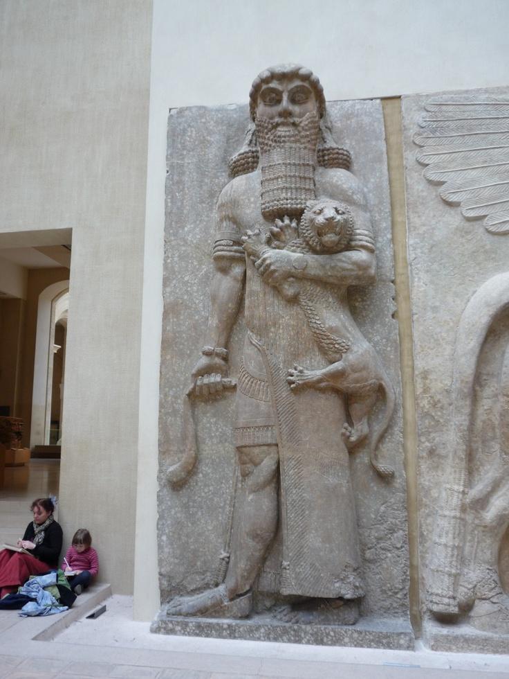 길가메시 in 루브르 박물관