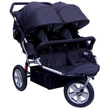 Tike Tech City X3 Swivel Double Stroller - Classic Black (Babies R Us -$399 + car seat adapter sold separately ~$85)