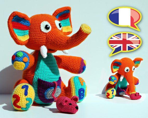 Kit Crochet Amigurumi Souris facile | 452x570