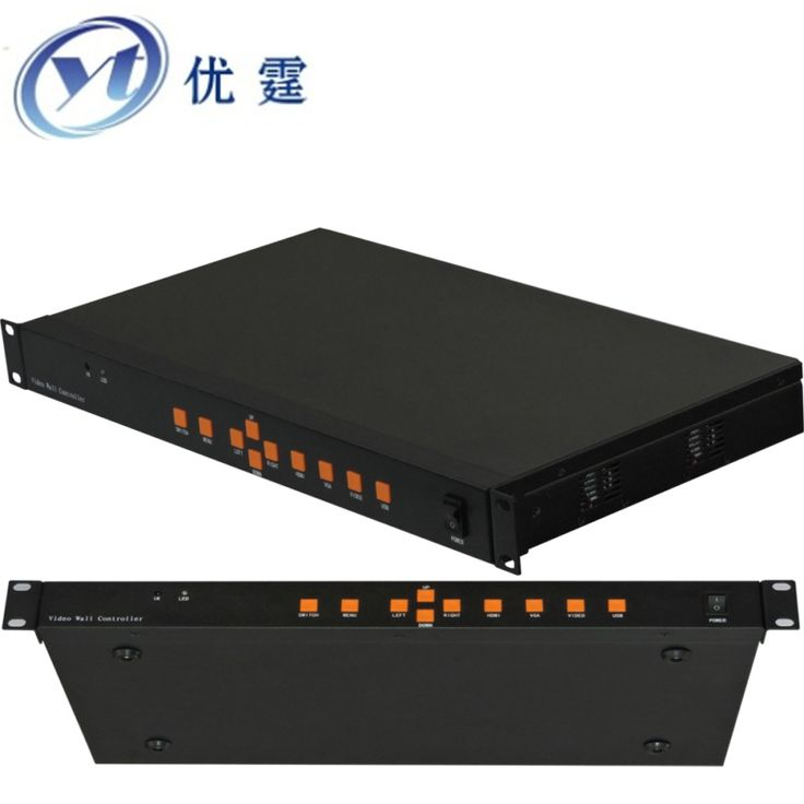 YOUTING YT-BOX2X3 Video Wall Controller HDMI VGA AV USB Processor 2x3 six images stitching image processor 6 TV 1080P