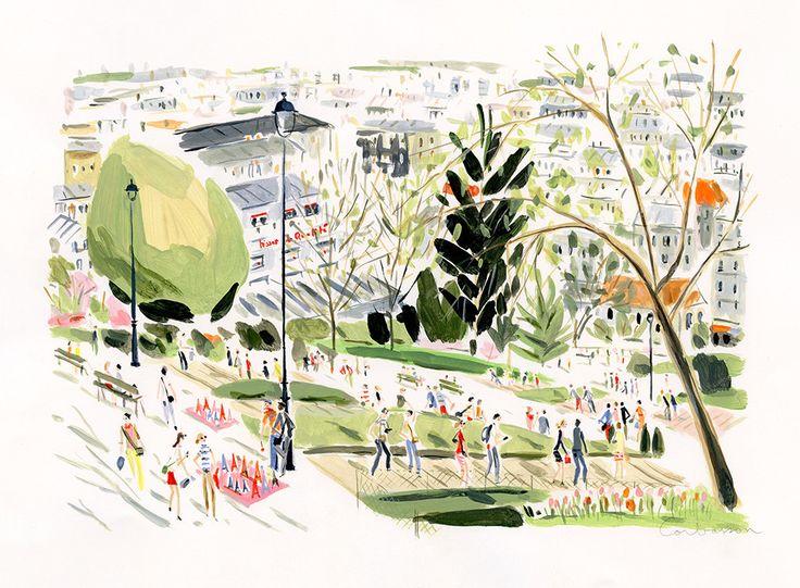 Jardin de  Montmartre // Dominique Corbasson