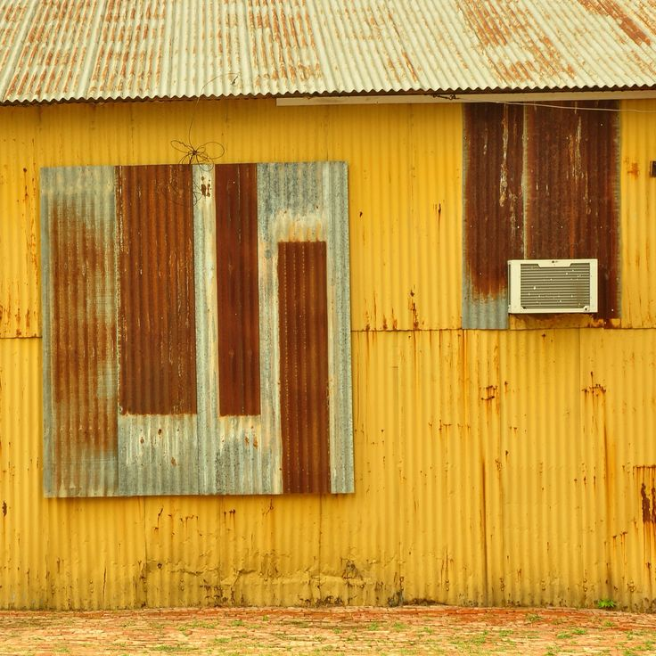 Corrugated abstract