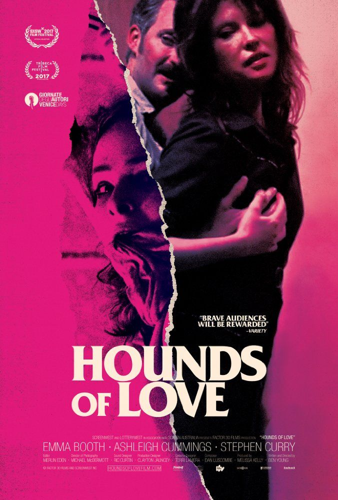 Something to check out? Stephen Curry, Emma Booth, and Ashleigh Cummings in Hounds of Love (2016)
