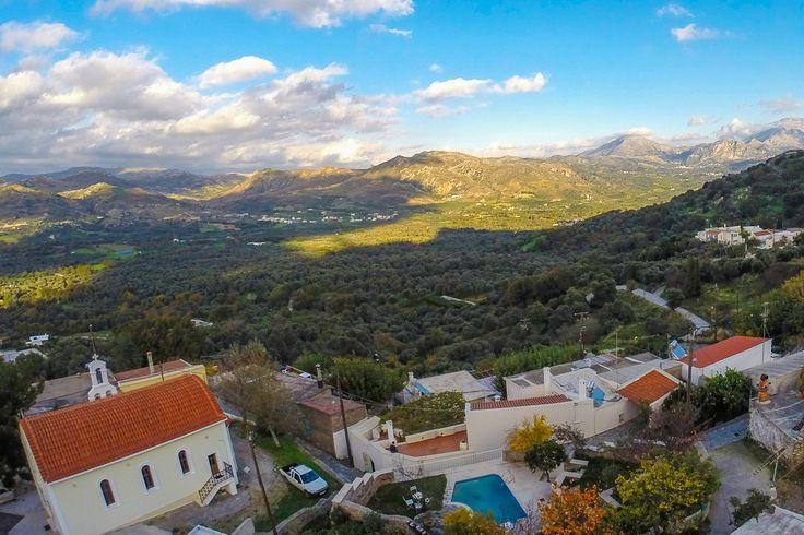 Atsipades village, Rethymno, Crete