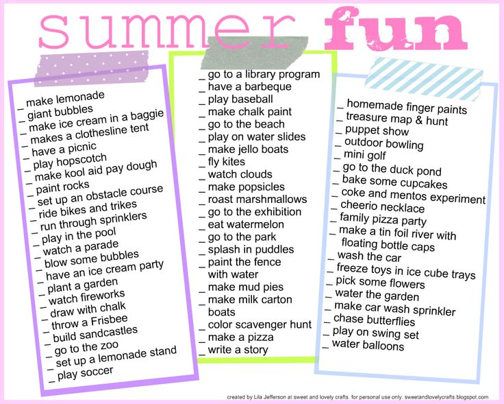 Use these ideas to make our own - with less stuff.  This list stresses me out!  summer printable.jpg - Google Docs