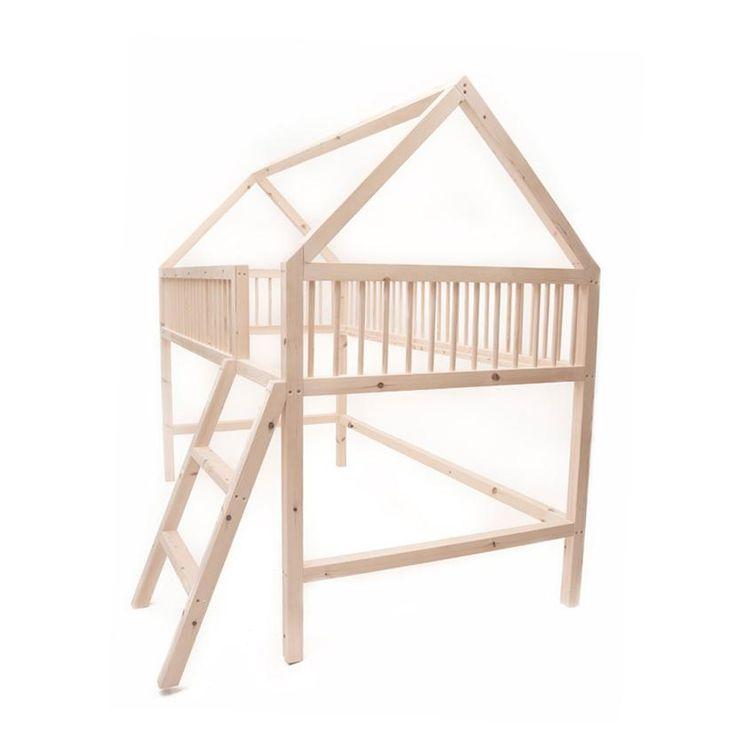 'My Treehouse' Low Loft Bed - Single Size