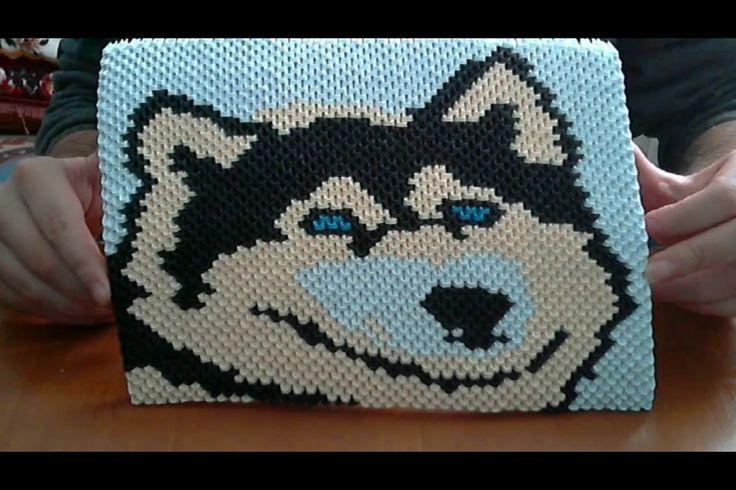Wolf schilderij