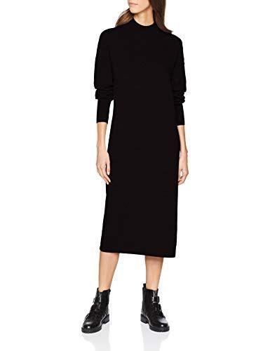 f620ca1a1a9e edc by ESPRIT Damen Kleid 118CC1E006 Schwarz (Black 001) X-Large ...