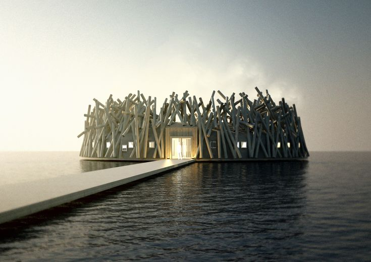 A Floating Arctic Hotel Is Opening in Sweden - Condé Nast Traveler
