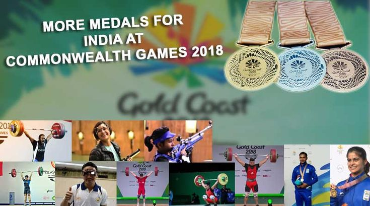 More Medals for India at Commonwealth Games 2018. #CommonwealthGames2018 #CommonwealthGames
