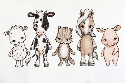 Farmhouse friends via Stickstay. Click on the image to see more!
